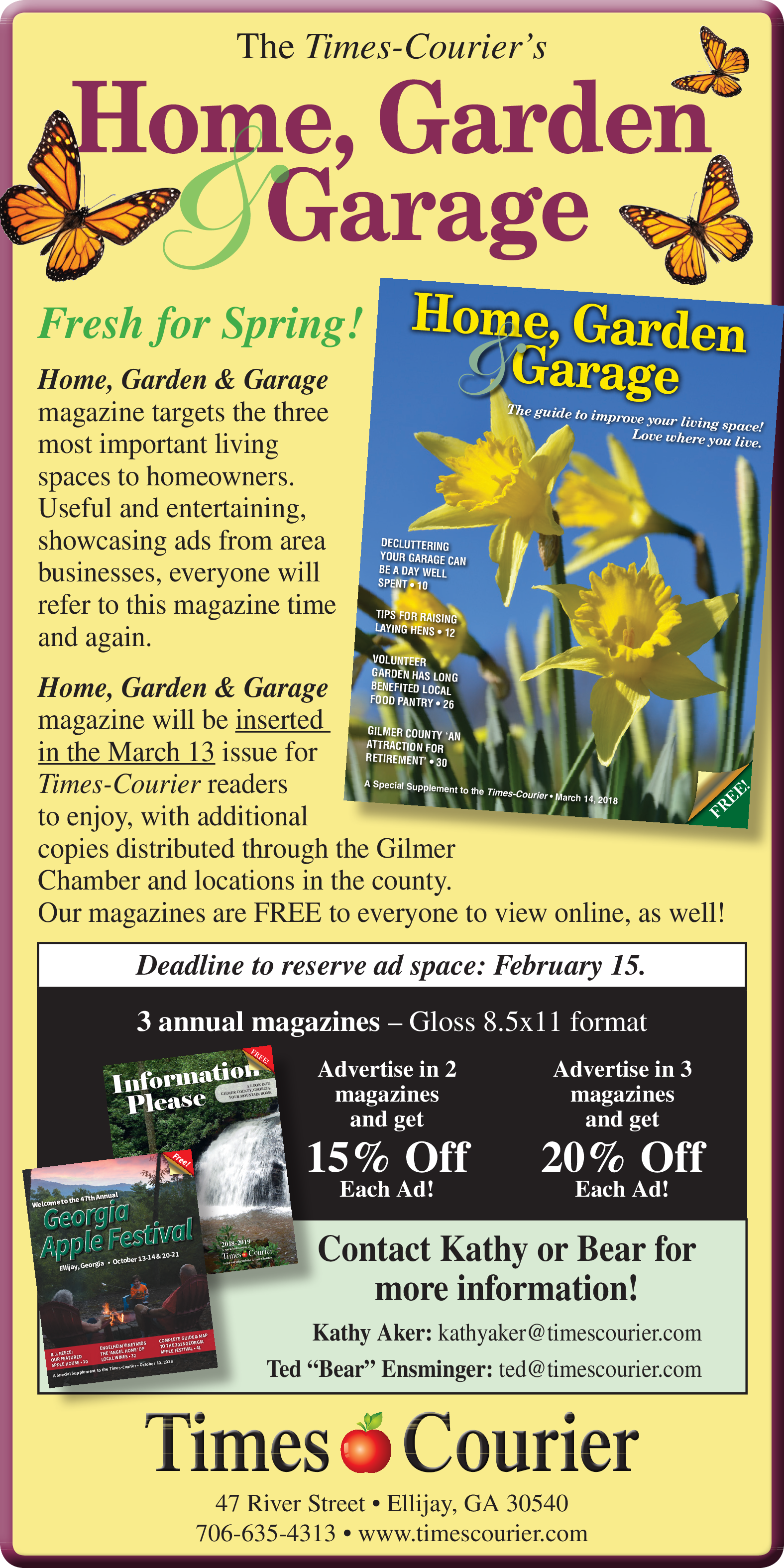 Online Free Magazine in Ellijay, GA, Newspapers - Times-Courier