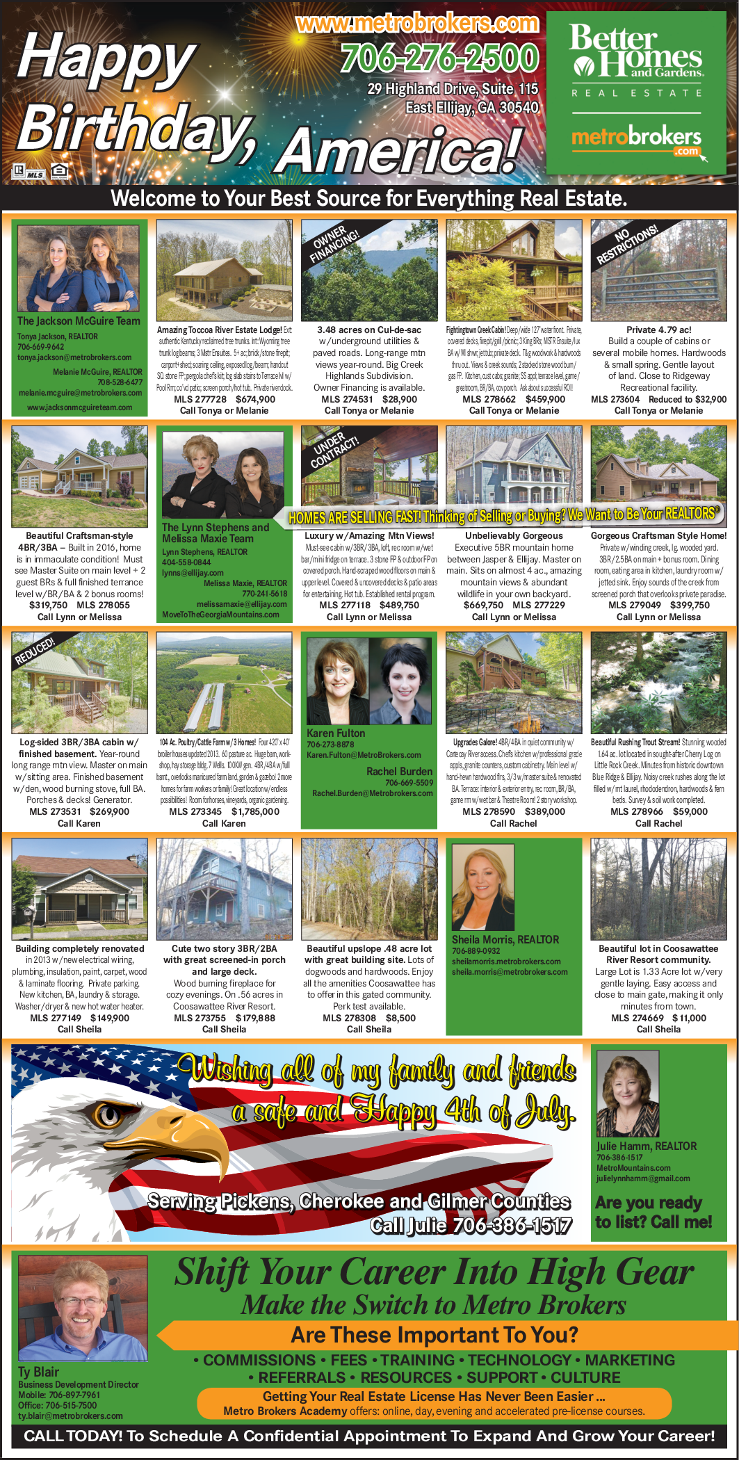Best Real Estate Realtors In East Ellijay, GA, Real Estate Agents   Better  Homes And Gardens Real Estate   Metro Brokers