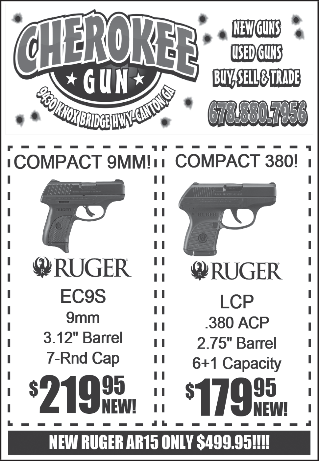 Ruger Guns Available in Canton, GA, Guns & Accessories