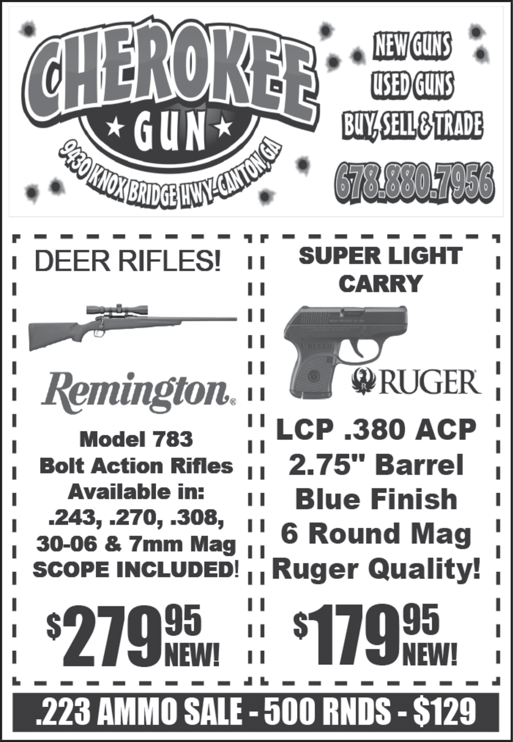 Best Remington & Ruger Available in Canton, GA, Guns